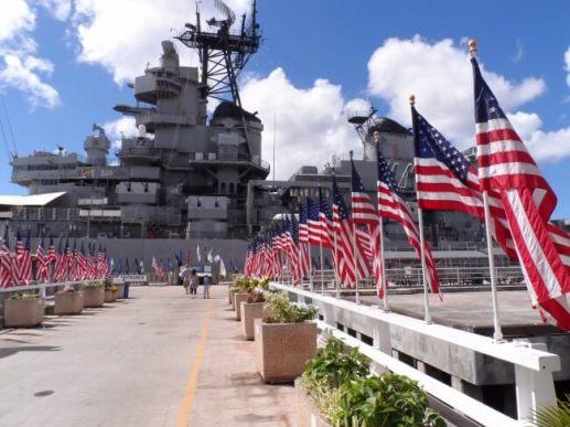 一度は訪れたい、戦艦ミズーリ記念館
