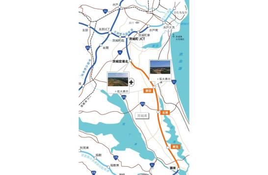 【E51】東関東自動車道(鉾田IC~茨城空港北IC間)が平成30年2月3日(土)15時に開通 - NEXCO 東日本