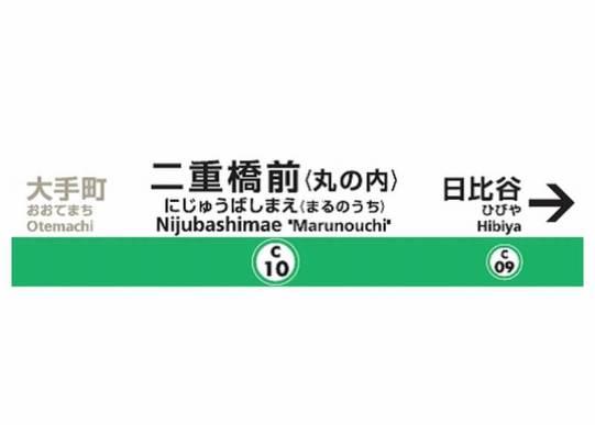 駅名標イメージ図