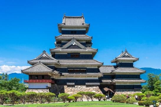 3位 松本城(まつもとじょう)<長野県> 松本城