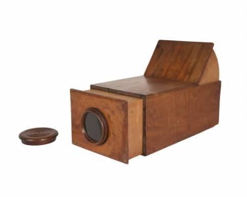 カメラ・オブスクーラ 製作者不詳 1790年頃