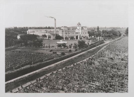 明治44年(1911年)シャトー全景