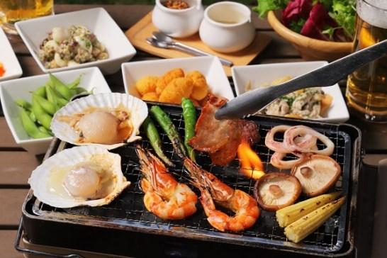 海鮮BBQコース 全13品 5,480円【2時間飲み放題付】