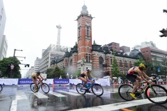 世界トライアスロンシリーズ横浜大会