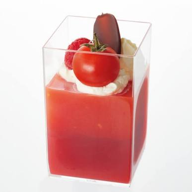 旭 せきね農苑のトマトを使用したそごう千葉店オリジナルメニュー