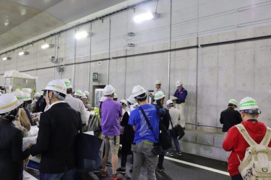 東京外環自動車道ナイトツアー