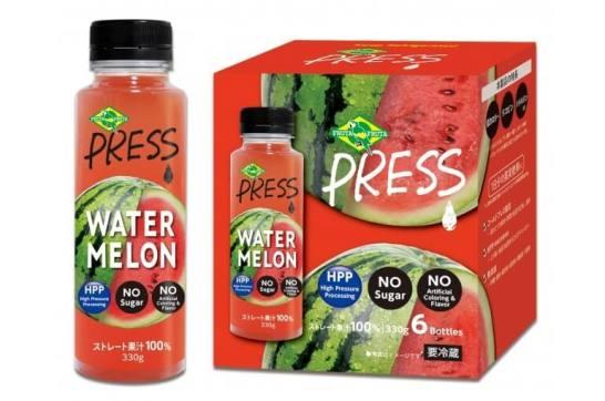 コストコ専売スイカのストレートジュース『PRESS WATER MELON』発売開始