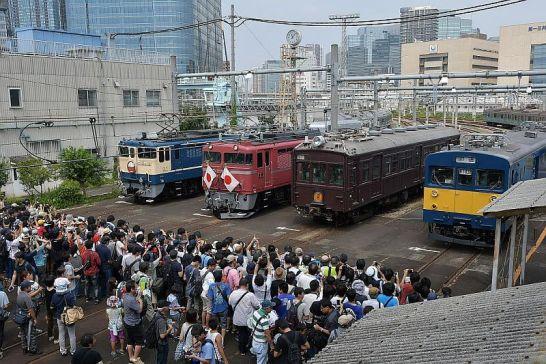 JR東日本、東京総合車両センター8/25一般公開(昨年度の様子)