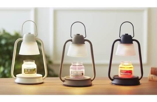 火を使わずにアロマキャンドルが楽しめる「香る照明」キャンドルウォーマーランプミニ