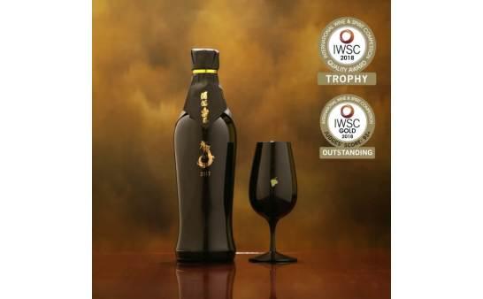 本格芋焼酎「酒酒楽楽 金 2017」が世界最高峰の酒類コンテスト IWSC2018 で最高賞を受賞!