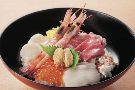 北海道の海の幸をご堪能!【函館市 朝市食堂函館ぶっかけ】