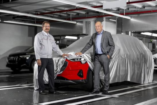 Audi e-tronの生産を開始