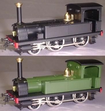 真鍮製一号機関車