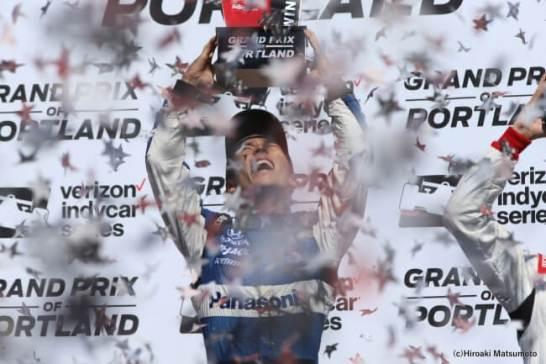 佐藤琢磨、インディカー・シリーズ通算3勝目を達成!2018シーズン全17レースと独占インタビューを収録した永久保存版DVDを1,500枚限定でリリース決定!