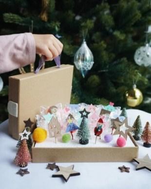 クリスマスアドベントカレンダーづくり