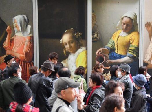 光の魔術師といわれるフェルメールの作品に、40万人が魅了された