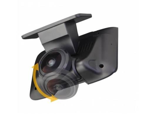 高画質で全方位を記録 市場最安値水準で登場!「360°撮影カメラ搭載ドライブレコーダー」