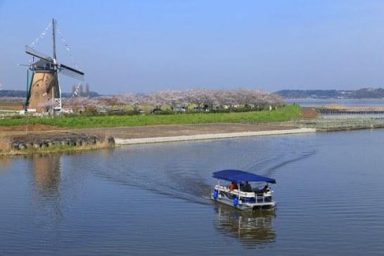 印旛沼観光船