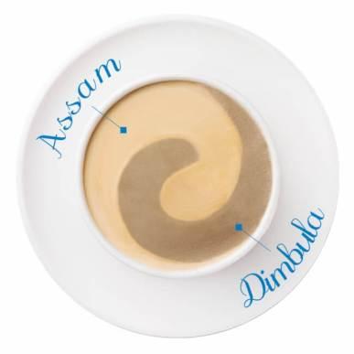 紅茶ラテ~アッサム&ディンブラ~