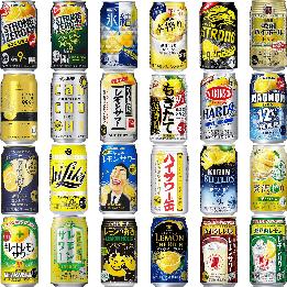 レモンサワー24種類 スペシャル飲み比べアソート