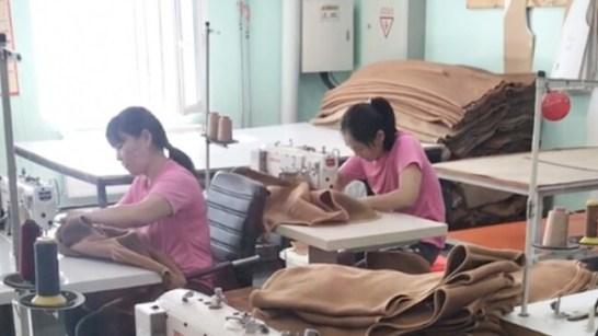 モンゴルの工場