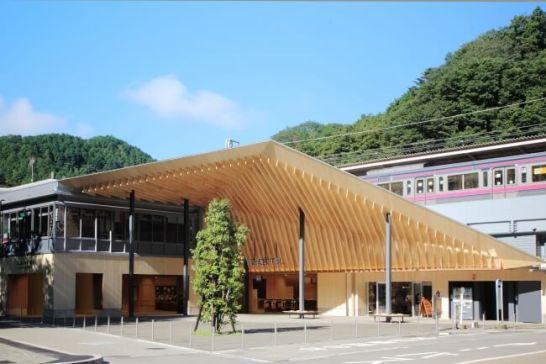 高尾山口駅外観