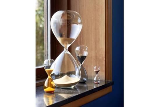 【HAY TOKYO】120分計れる新作砂時計「TIME」日本新発売