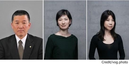 左から伊藤純一教育長、小川絵美子氏、清水陽子氏