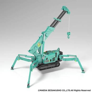 人気の建設機械「かにクレーン」がプラスチックモデルに! - グッドスマイルカンパニー