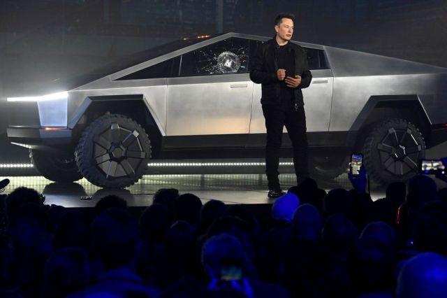 Пикап для Марса. Cybertruck Илона Маска