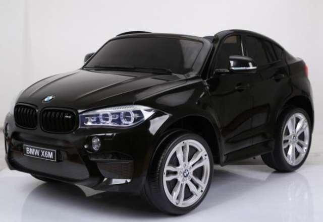 Крутой BMW X6: не только для взрослых. Обзор детского электромобиля