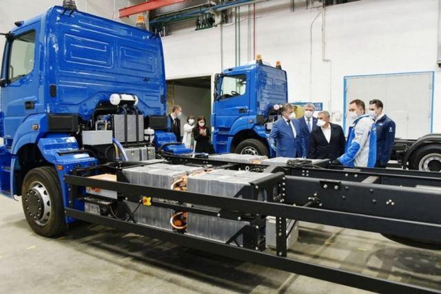 Уже в 2023 году КАМАЗ начнет выпуск грузовых электромобилей