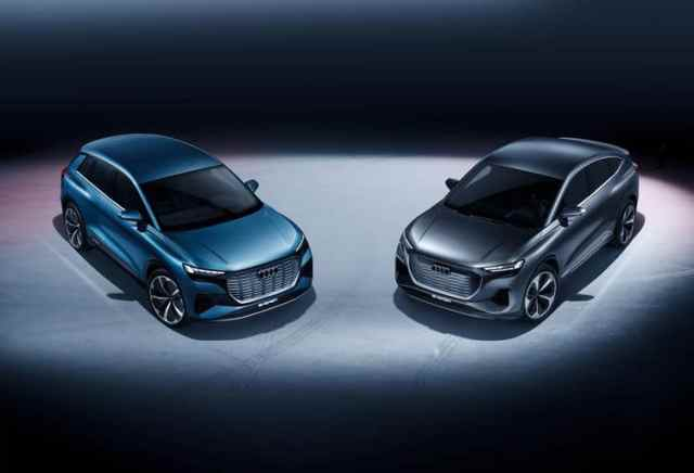 Новые концепты от Audi пополнят линейку электромобилей