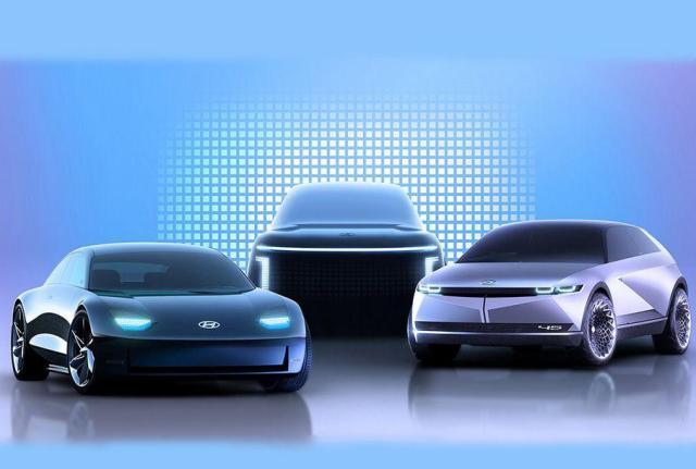 Hyundai анонсировала три электрокара под брендом Ionic