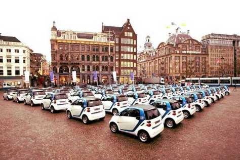 Нидерланды и электромобили