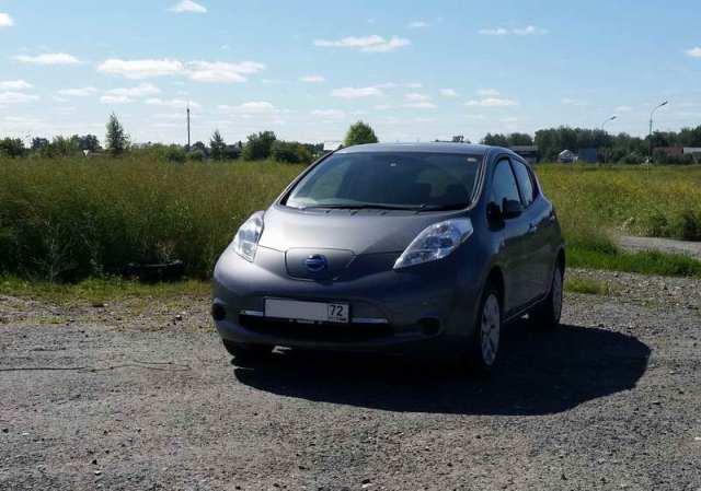Электромобиль в Тюмени: реальный опыт использования Nissan Leaf