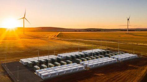 Big Tesla Battery