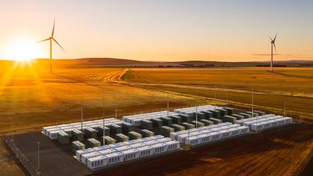 Big Tesla Battery