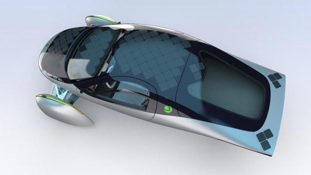 Электромобиль Aptera Motors