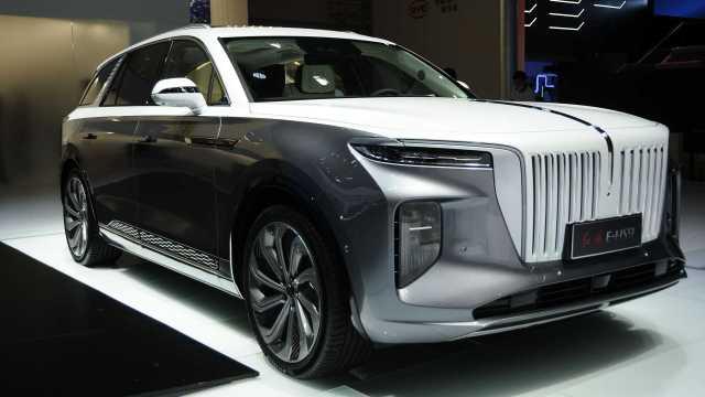 Электромобили Китай Hongqi E-HS9