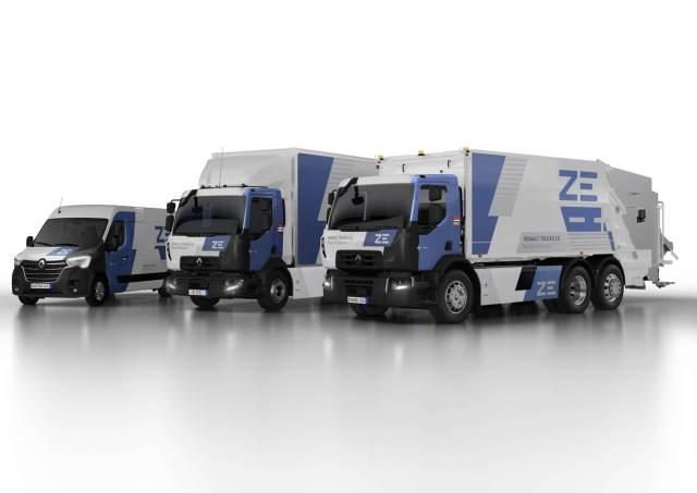 Электрофуры Renault Trucks