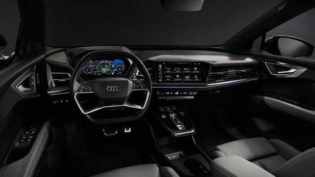Audi Q4 e-tron интерьер