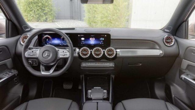 Mercedes-Benz EQB интерьер
