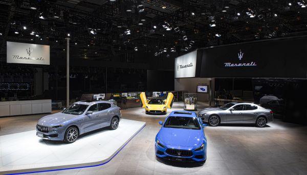 maserati levante hybrid Auto Shanghai 2021
