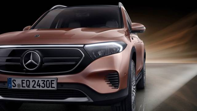 Mercedes-Benz EQB дизайн
