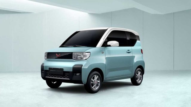 Электромобиль Wuling HongGuang Mini EV