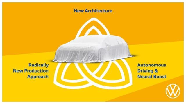 будущий электромобиль VW Project Trinity