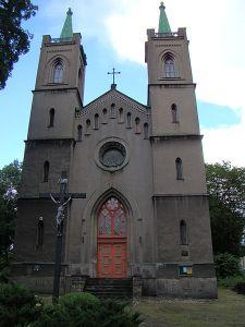 2014-12-17 Chorzów dawniej i dziś - Kościół Elżbiety