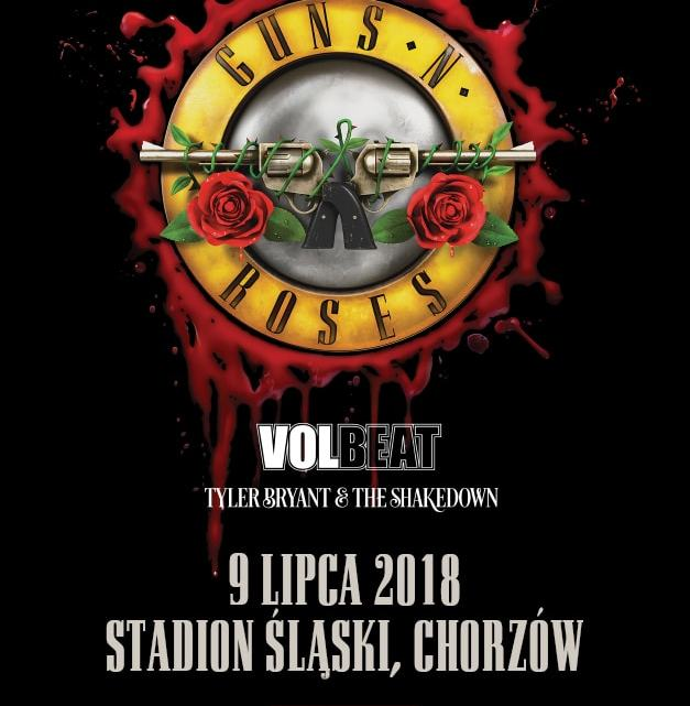 VOLBEAT i TYLER BRYANT & THE SHAKEDOWN PRZED GUNS N' ROSES