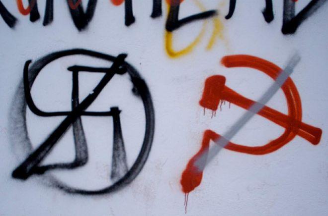 Straż miejska w Chorzowie walczy z faszystowskimi symbolami!